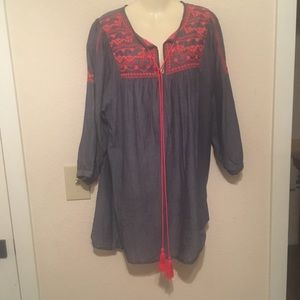 Velzera tunic dress